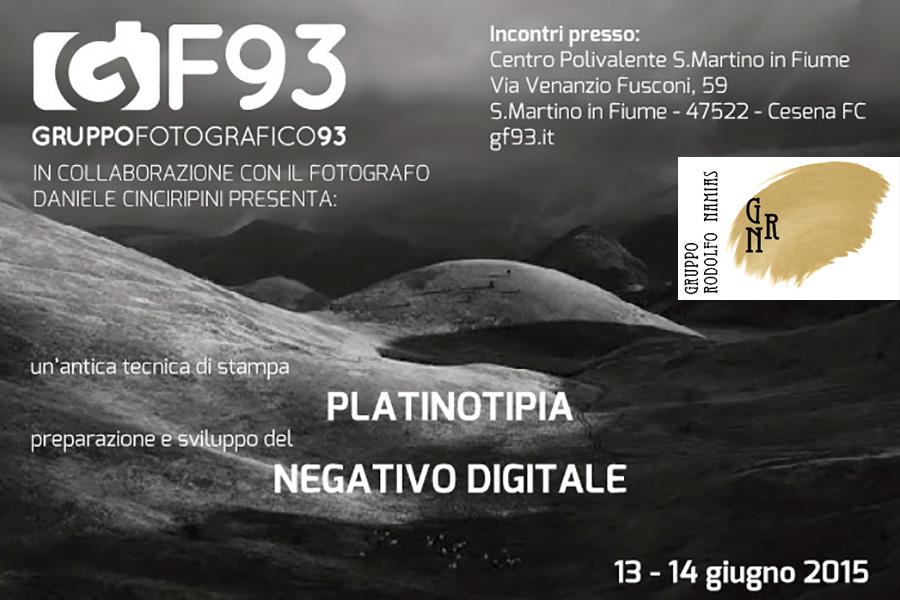 Workshop Di Platinotipia 2015