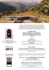 Una serata a Palazzo Nadiani