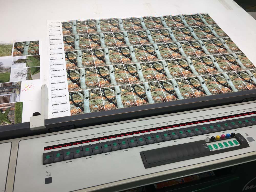 Testa di stampa Fotografia in copertina